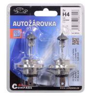 Compass Žárovka 12V  H4  100/90W P43t blister 2ks 08615
