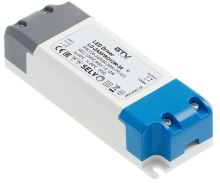 GTV  LD-ZASPRO12W-30 LED trafo AC220-240/DC12V, 12W ,  IP20