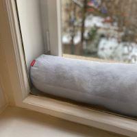 Aesthetic Dveřní a okenní ochrana proti průvanu 100% LEN Barva: Black