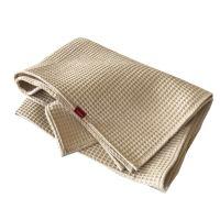 Aesthetic Bavlněný ručník/osuška s vaflovým vzorem - béžová Rozměr: 47x70 cm