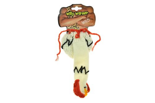 Pletená čepice na penis a kulky - Kohout (20cm) - 4029811232079