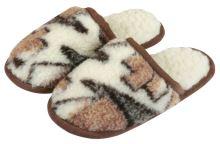 VERATEX Pantofle z vlny velikost 43-44