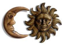 Keramická sada měsíc a slunce