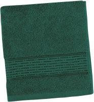 VERATEX Froté ručník Lucie 450g 50x100 cm (tm.zelená)