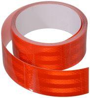 Samolepící páska reflexní 5m x 5cm červená (role 5m) 01543