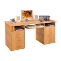Stůl na počítač 194 buk IDEA nábytek