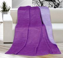 VERATEX Deka KIRA PLUS 150x200 cm,fialová/světle fialová