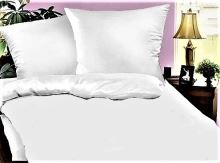VERATEX Bílé povlečení - Hotelový uzávěr 70x90-140x200 cm 50% PES/50% BAVLNA