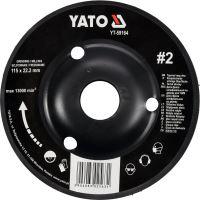 Yato Rotační rašple úhlová 115 mm typ 2 YT-59164