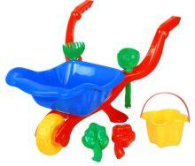 Kolečko pro děti s 6v1 příslušenství pro písek