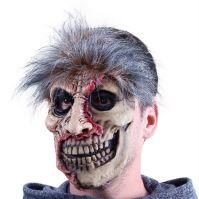 Maska zombie Halloween (8590687907706)