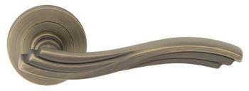 Rozetové kování MALTA-R  Klika štít kulatý