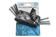 Sada třinácti univerzálních klíčů pro cyklisty  -XQ MAX (9x4.5x2.5cm) - 8719202026382