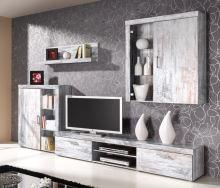 FALCO Obývací stěna Samir bílá borovice - 0201010101