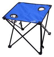 Cattara Stůl kempingový skládací LISBOA modrý 13482