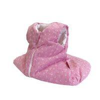 Aesthetic Spací pytlík 65 cm - kostička růžovo bílá-bílý