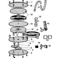 Bahco Koncovka plastová 0,5m k pásmu(na obrázku č. 17) (2157)