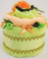 VERATEX Veratex Textilní dort růže jednopatrový