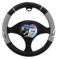 Compass Potah volantu RALLY šedý 31415