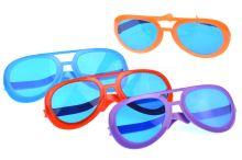 Obří párty brýle (25cm) - Mix barev 1ks - 5907773985129