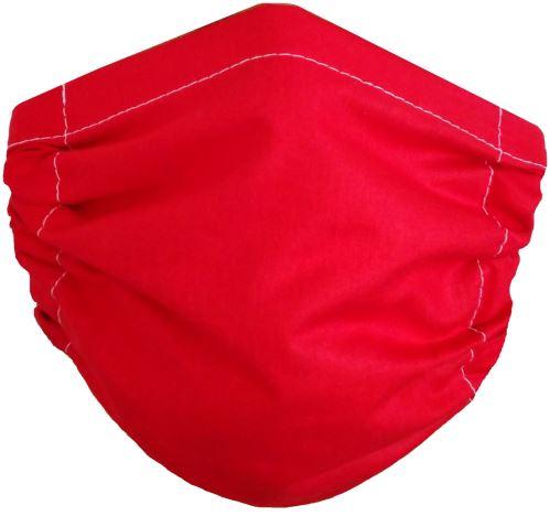 VERATEX Rouška na ústa Červená 2-vrstvá