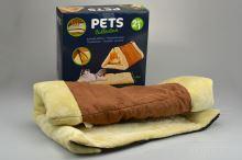 Praktický hřejivý pelíšek pro kočky 2v1 (90x60cm) - 8719202129212