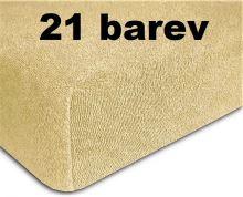 VERATEX Ochranný froté potah na matraci oboustranný 200 x 220cm Skladem (21 barev)