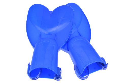 Dětské plovací ploutve - Modré - 5907773945604