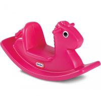 Růžový houpací kůň littletikes