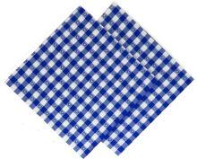 VERATEX Utěrka tkaná kanafas 45x70cm modré srdíčko 100% Bavlna (1ks)