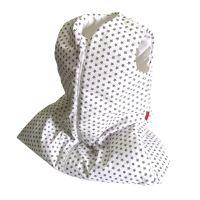 Aesthetic Spací pytlík 100% bavlněné plátno- Hvězdička šedá na bílé - Délka - 72 cm, 90 cm, 105 cm, 120 cm Velikost: 90 cm