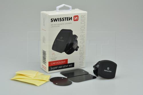 Držák mobilního telefonu SWISSTEN S-GRIP AIR VENT M3 na magnet - 8595217451490