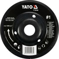 Yato Rotační rašple úhlová jemná 125 mm typ 1 YT-59168