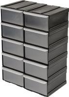Vorel Skříňka se zásobníky, 10 zásobníků,  225x155x100mm TO-78785