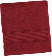 VERATEX Froté ručník Lucie 450g 50x100 cm (vínová)