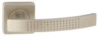 Dveřní dělené rozetové kování ALMA-QR Klika štít hranatý