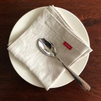 Aesthetic Lněný jídelní ubrousek - mix barev - 100% len, gramáž 185g/m2 Barva: Old Meal