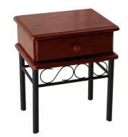 FALCO Noční stolek Dita třešeň - 1430010201