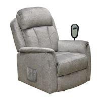 Relaxační křeslo COMFORT šedé IDEA nábytek