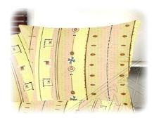 VERATEX Povlak na polštářek krep 40x40cm-zip (R0297)