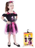Dětský kostým rebelka (S) (8590687801578)