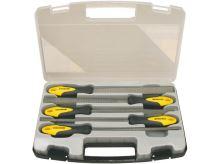 PROTECO - 10.14-9801-2 - sada rašplí 5-dílná 200 mm v plast. kufru
