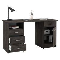 Psací stůl MONACO 2 tmavý dub IDEA nábytek