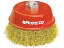 PROTECO - 10.231-075 - kartáč hrnkový 75mm x M14x2 FeMs 0.3mm