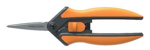 Fiskars Nůžky Solid zastřihávací micro-tip (1051600)