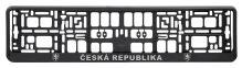 Podložka pod SPZ CHROM ČR 3D 91536