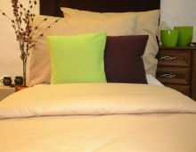 VERATEX Přehoz na postel bavlna140x200 béžový