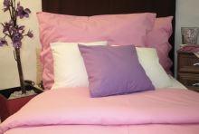 VERATEX Přehoz na postel bavlna140x200 růžový