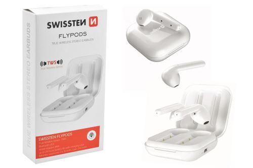 Bezdrátová sluchátka SWISSTEN - TWS Flypods - 8595217467491