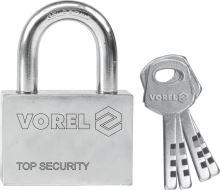 Vorel Zámek visací stavební 60 mm 4 klíče TO-77006